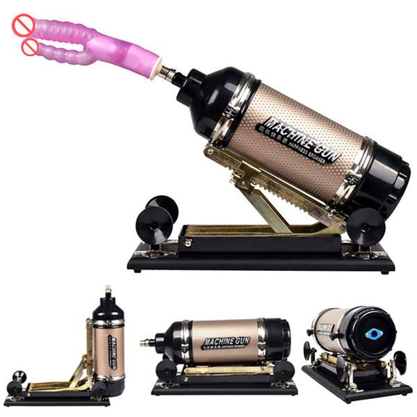 Automatic Sex Machine Sexual Intercourse Cannon Love Machine with Dildo Thrusting Massager Masturbation Sex Toys for Couples E5-1-52