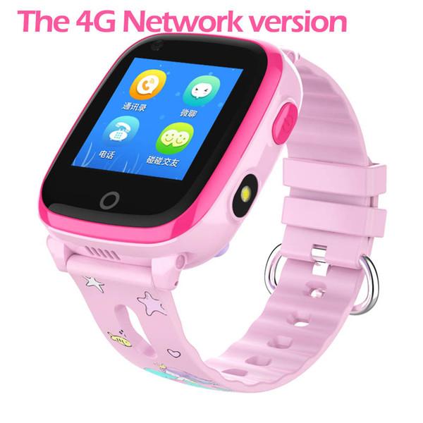 IP67 Su Geçirmez Akıllı 4G Uzaktan Kamera GPS WI-FI Çocuk Çocuk Öğrenciler Kol SOS Video Çağrı Monitör Tracker Konumu İzle