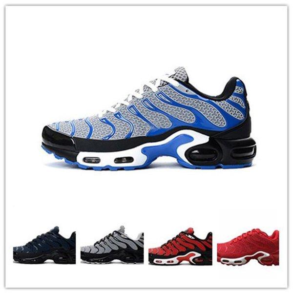 2019 Sıcak Satış tn Koşu Ayakkabıları Erkekler için tasarımcı tns Spor Ayakkabı Adam Açık Eğitim Sneakers Nefes Dantel-Up