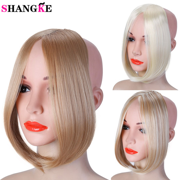 Long Clip In On Front Hair Bang Side Fringe Hair Extension Real Natural Synthetic Bangs Hair Piece Long Curly Hairstyles With Bangs Side Swept Bangs