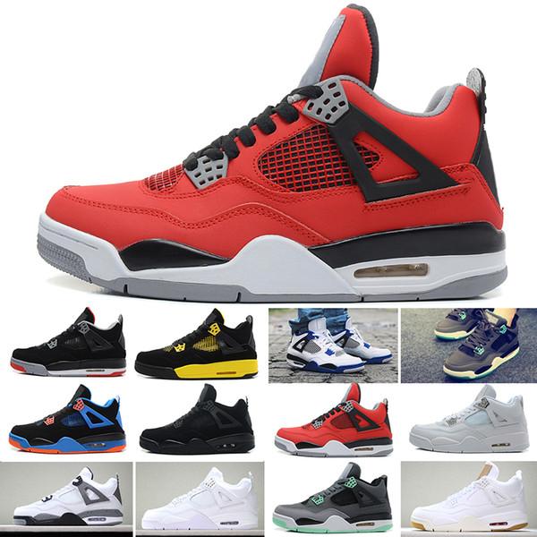 Mode Nike Air Jordan IV Retro Schuhe Männer Farbe