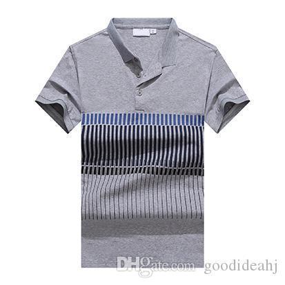 Хлопковый крокодил индиана Мужские летние футболки Марка Дизайнерская рубашка Fashion Luxury Печатные рубашки Высококачественные брендовые рубашки VV