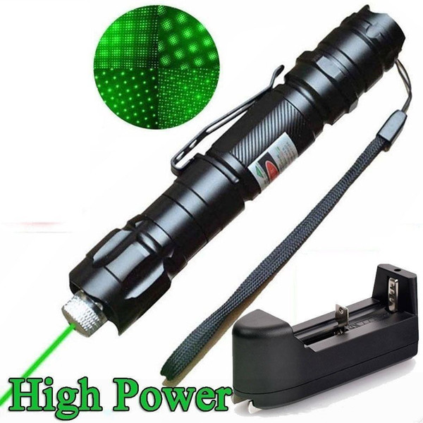 brand new 1mw 532nm 8000m high power green laser pointer light pen lazer beam military green lasers ing