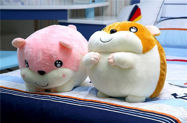 20170717 New Products Cute Soft Stuffed Animals Doll Hamsters Plush Toys For Children Best Gifts Specials