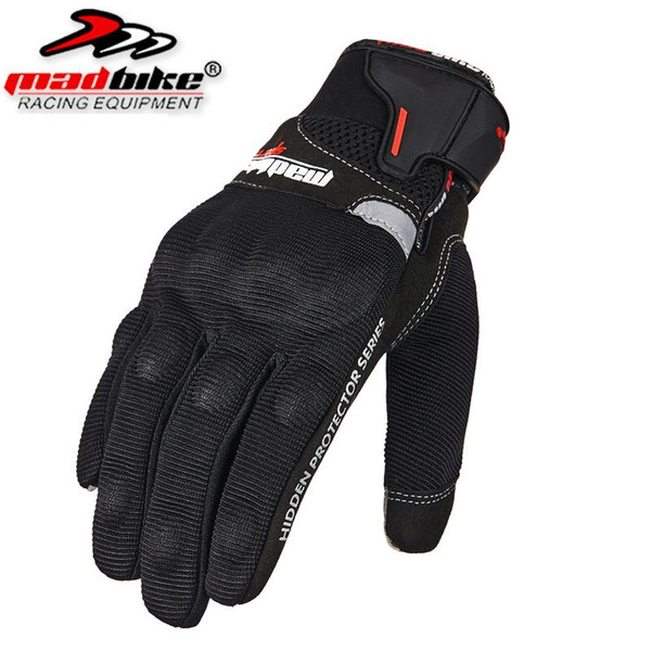 Hot sale Madbike motorcycle gloves MAD-04 touch screen Summer Guantes motocicleta Glove Full Finger Motorbike Cycling Racing motocross Luvas