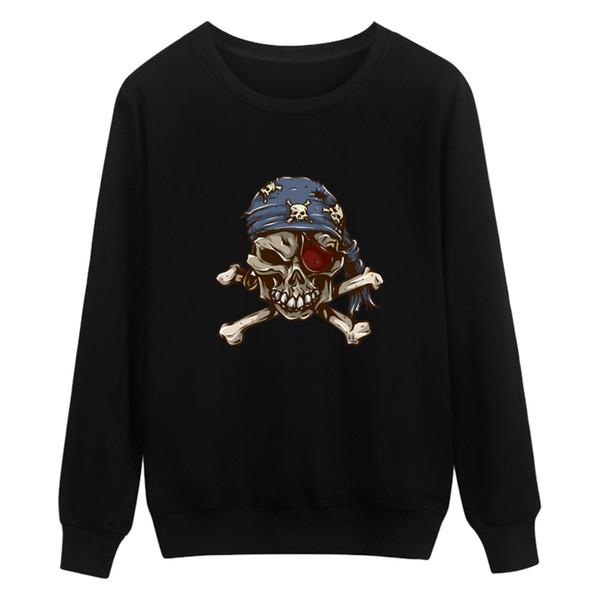Fashion Skeleton Print Hoodies Men Autumn Long Sleeve Men Hoodies And High Quality White Skull Sweatshirt Men Clothes