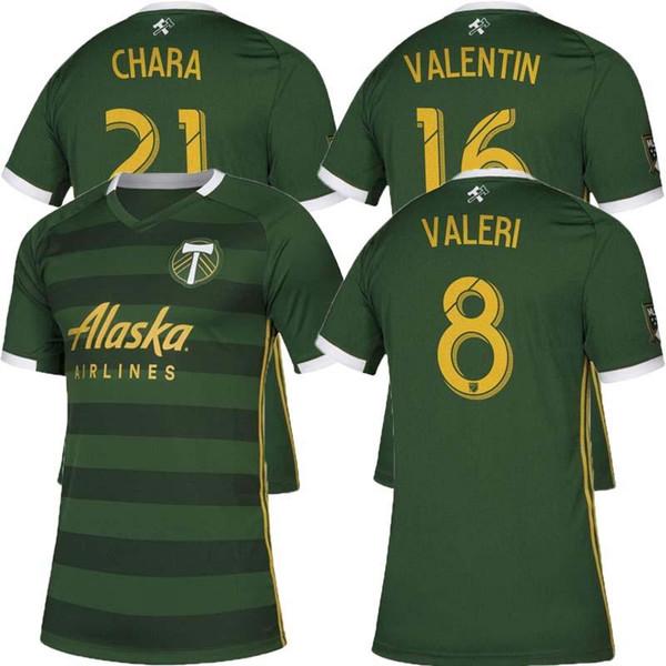 2019 2020 S-2XL Futbol Club Portland Timbers en casa Camiseta de fútbol Jersey de fútbol 19 20 Camiseta de fútbol Portland Timbers en casa camisetas de fútbol verde