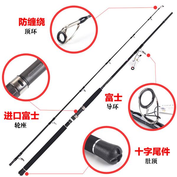 fishing rod lurekiller fuji rings parts shore jigging rod ocean popping 2.7m/3.0m pe 2-5 saltwater hard jigging h action