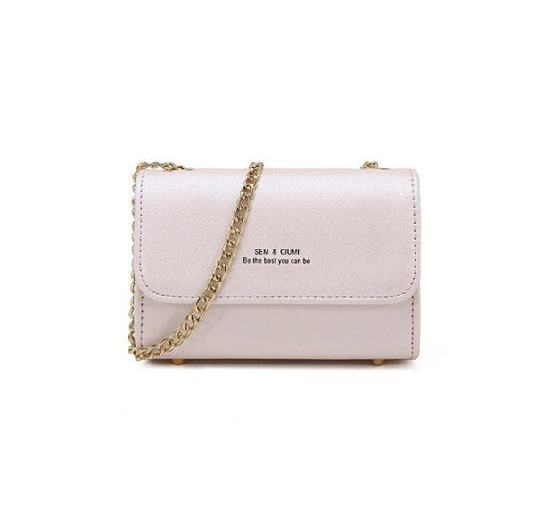 New wave Korean version Crossbody bag single shoulder bag Fabric texture PU lining texture Synthetic leather Bag shapes: square vertical sec