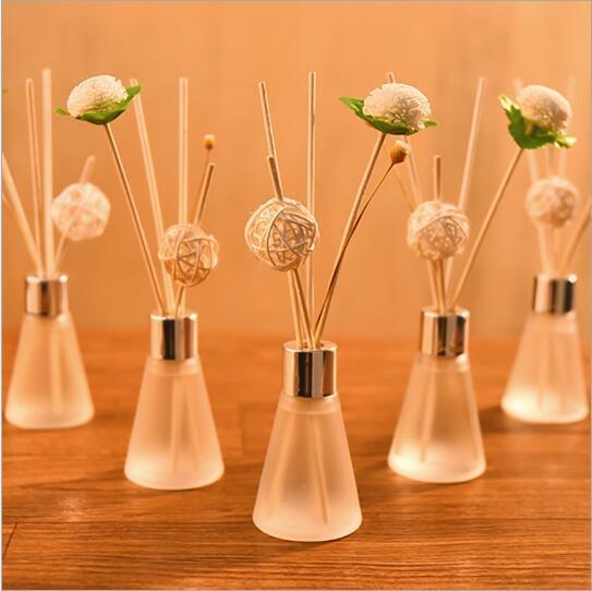 Diffuseur à roseaux bon parfum 50ML Parfum Maison essentielle Salle de Bain Décoration pour Aromathérapie Humidificateur Spa Salle de Bain