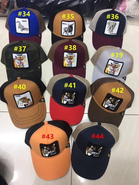 Yaz Örgü Beyzbol Şapkaları Nakış Horoz Kapakları Açık Güneş Şapka Erkek Golf Topu Kap Kadın Moda Vizör Casquette Hayvanlar Örgü şapka