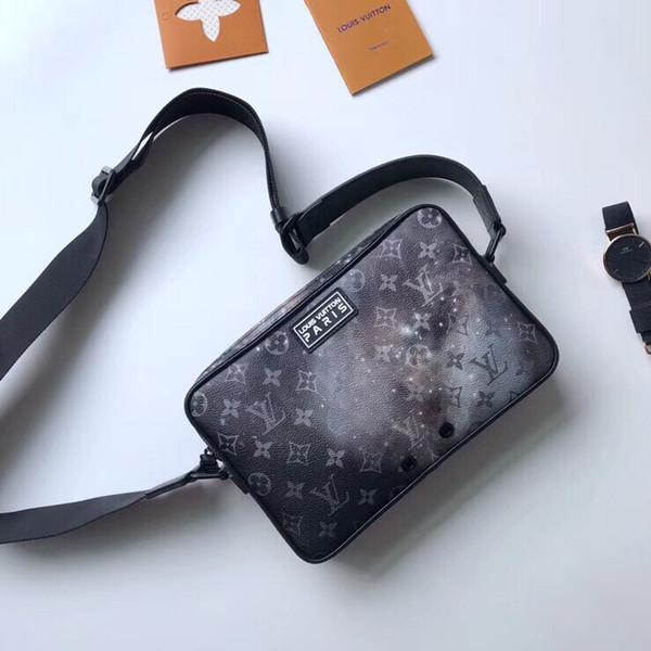 Top Qaulity M44165 26..17..5cm Francia Diseñador de moda Mochila bolso bandolera bolsos Forro de seda con paquete de bolsa de polvo Envío gratuito