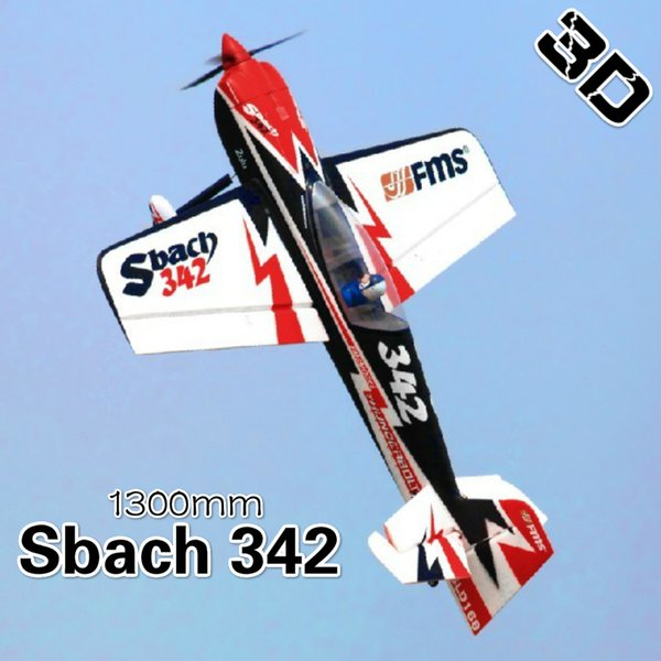 wholesale 1300MM 1.3M Sbach 342 4CH 4S Durable EPO Aerobatic 3D PNP RC Airplane Radio Control Hobby Model Plane Aircraft Sports Avion