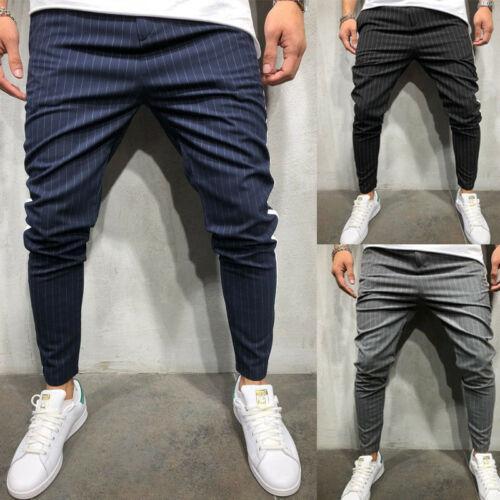 Мужские узкие спортивные штаны для бега снизу Slim Fit спортивные штаны карандаш брюки