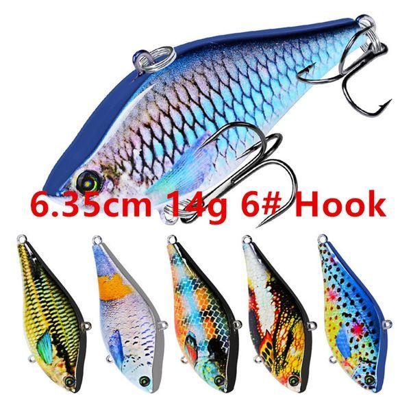6.35cm 14g 6# Hook