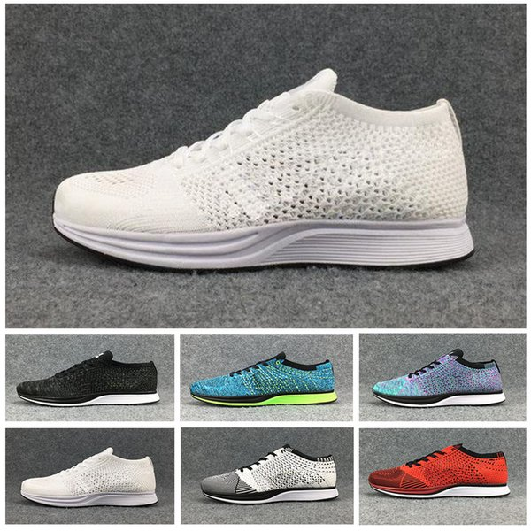 Racer Air Zoom Fly Racers 1 Women Men running shoes Athletic casual Black AIR Zoom Racers Plus Sneakers Trainers Lightweight Designer Shoes