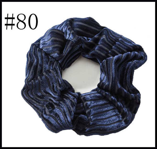 free shipping 320pcs Women Elegant Velvet Solid Elastic Hair Bands Ponytail Holder hair Scrunchies Tie Hair Rubber Band Headband Lady