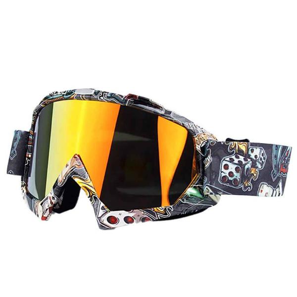 New Anti-fog Cycling Ski Goggles Double Layers Big Ski Mask Glasses Skiing Motorcycle Snowboard Goggles