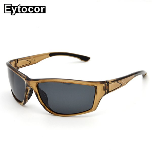 bb73a5206 EYTOCOR Esportes Homens Óculos De Sol Da Bicicleta Da Montanha Bicicleta  Equitação Óculos de Proteção Óculos