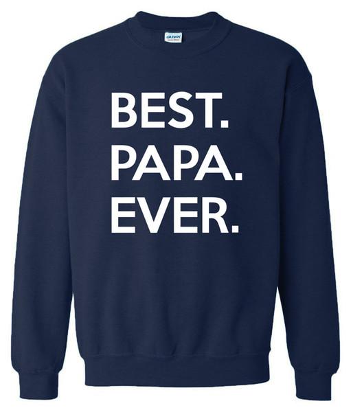 Fashion Best Papa Ever 2019 Men's Sportswear Hoodie Fleece Casual O-neck Sweatshirt Crossfit Tracksuits Sportsman Wear Harajuku