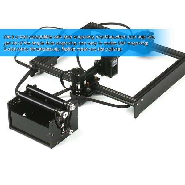 best selling KKMOON Rotary Axis for Laser Engraving Machine Laser Engraver Spherical Carving for Engraving Ball Surface