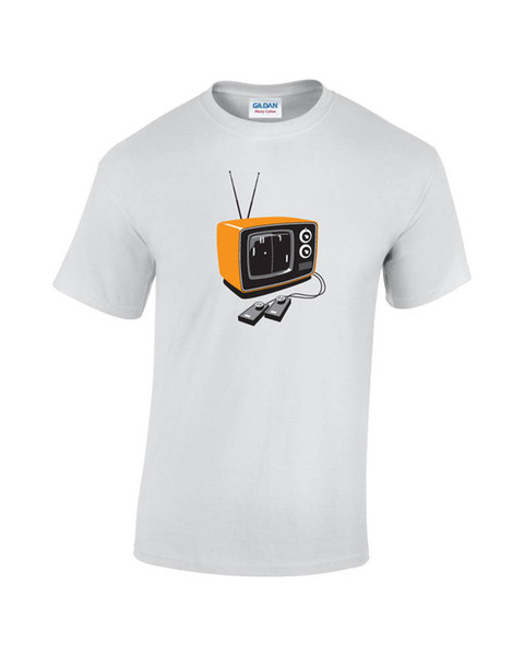 Adults Casual Tee Shirt Short Sleeve Vintage Gamer Fashion Crew Neck T Shirts For Men