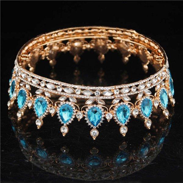 Gold Light Blue