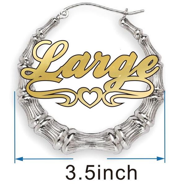 3.5inch الفضة الجولة الخط 4