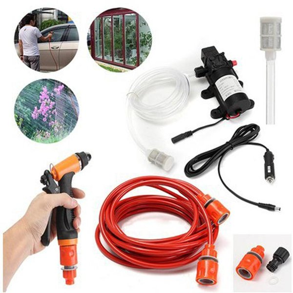 12V 100W Portable Car Washer Electric Powerful Water Pump High Pressure Car Cleaner