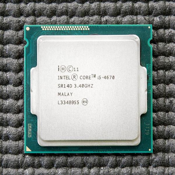 Intel Core i5 4670 3.4GHz 6MB Socket LGA 1150 Quad-Core CPU Processor SR14D i5-4670