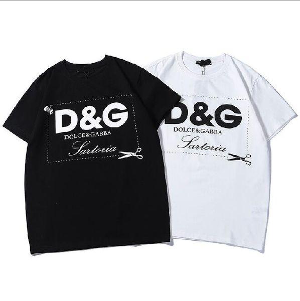 Dolce tshirt Gabbana mens designer t shirt mode classique t-shirt impression haute qualité confort décontracté tshirt hip hop rue couple t-shirt personnalisé