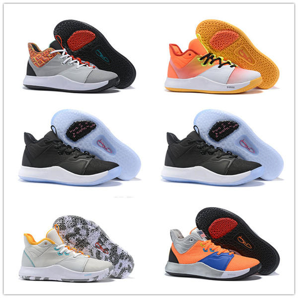 Stylish new high quality Paul George palmdale men's basketball shoes for inexpensive American designer PG3 3s sneakers 10