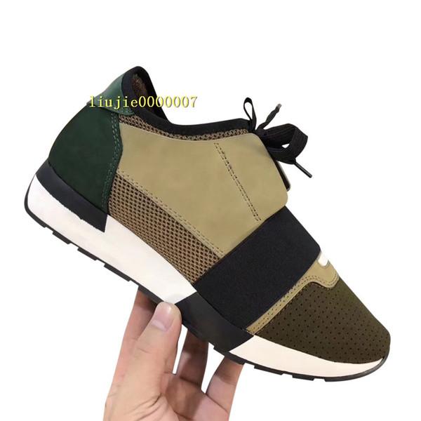 Mit Box Beliebte Marke Freizeitschuh Mann Frau Günstige Sneaker Mode Mischfarben Rot Blau Nude Mesh Trainer Neue Designer Schuhe Drop Shipping