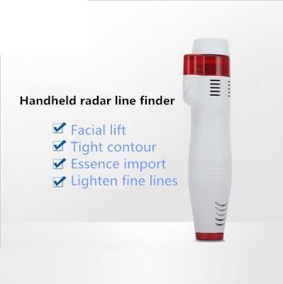 Vendita calda HIFU Handheld Radar Line Carving Home Apparecchiature di bellezza Ultrasonic Lifting Wrinkle Senza ago Carving RF portatile Importazione