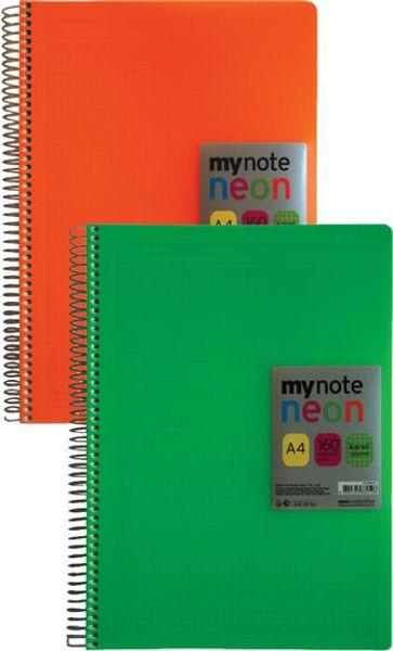 MyNote Pp 160 Mynot Neon Feuille A4 Squared pour ordinateur portable navire de la Turquie HB-002627215