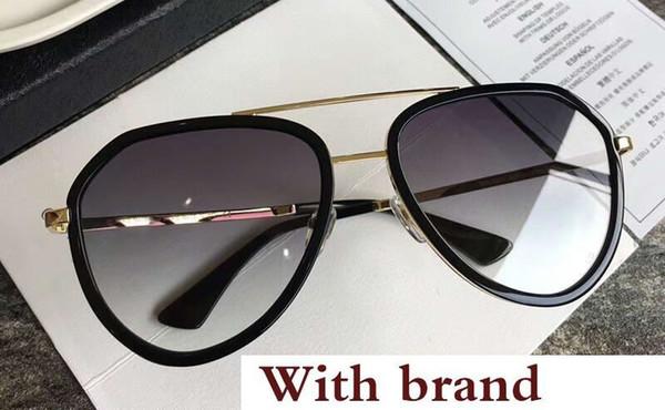 Retro Pilot Aviator Men/'s Sunglasses Shades Designer Wrap 3022 Black Silver