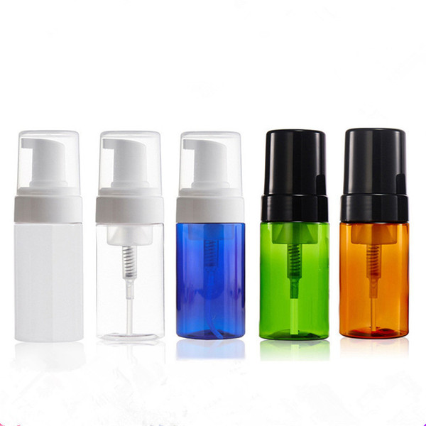 2019 100ml Clear Plastic Empty Mousse Foamer Pump Bottle Travel Liquid Foaming Containers Vial Dispenser Jar Pot For Cosmetic Facial Cleanser From