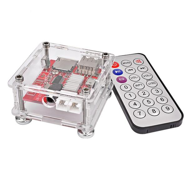 Scheda Amplificatore Bluetooth AIYIMA Stereo 3W * 2 MP3 Decoder senza perdita di dati Modulo Bluetooth 4.1 Supporto ricevitore USB TF U Disco DC 3.7-5V