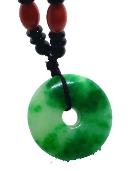 Natural White Afghan Jade Carved Dragon Pendant Free Rope Necklace