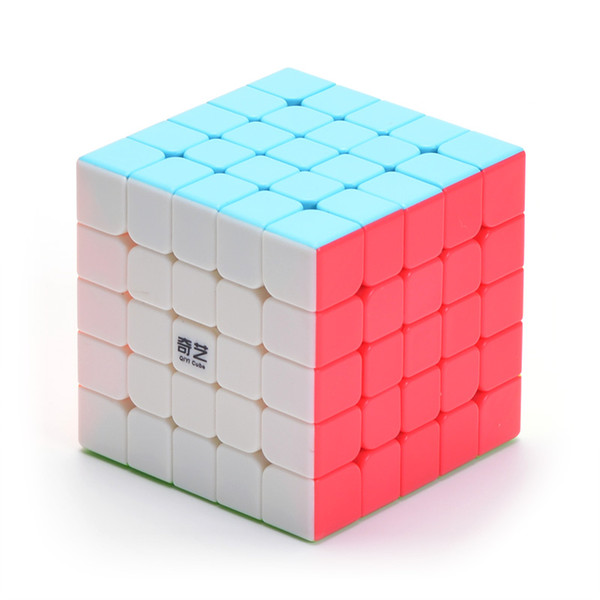 QIYI Game Professional Fun 5X5X5 Speed For Magic Cube puzzle Stickerless Neo Cubo Magico For Children Education Toy