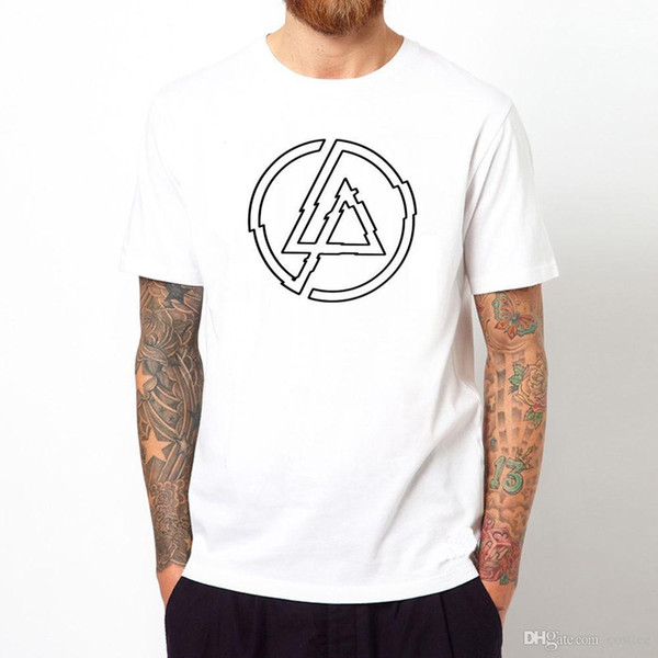 Linkin Park T Shirt Logo Rock Pop Metal Music Graphic Cool Gift Tee T Top Unisex Tee Shirt Shop Online One T Shirt A Day From Yubin07 25 99