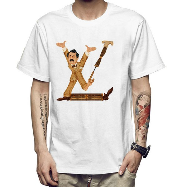 Bruce Springsteen t shirt The E street band short sleeve gown tops Rock fastness tees Colorfast print clothing Pure color modal tshirt