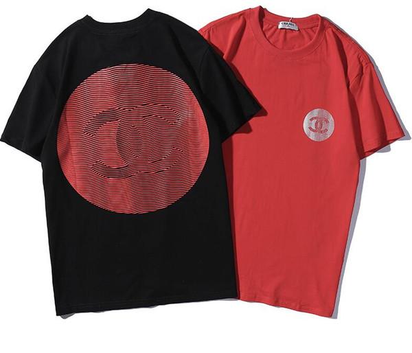 Hot colors Summer Unisex Design Men Printed MODE Rose Tee cat head Shirt T Shirt Female Women Slim Fashion Knits Tops T-shirt