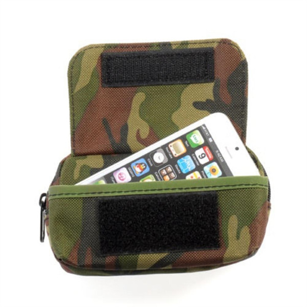 Professional Outdoor Tactical Molle Camo Waist Bag Waterproof Phone Pouch Pocket Fanny Pack #717410