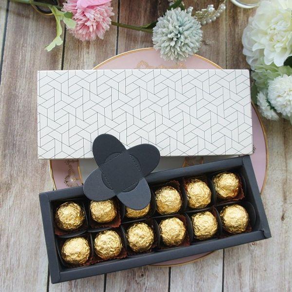 коробка шоколадная бумага
