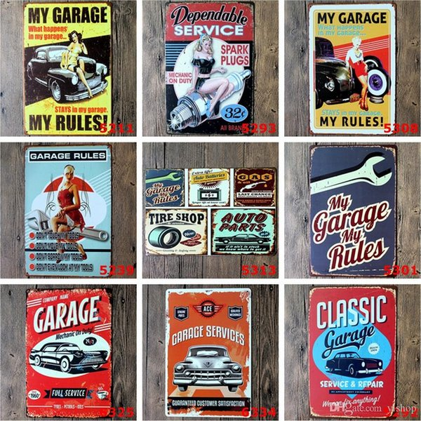 Champion Motor Oil Garage Retro Vintage TIN SIGN Old Metal Painting ART Bar Man Cave Pub restaurant home Decoration Wall Art Sticker