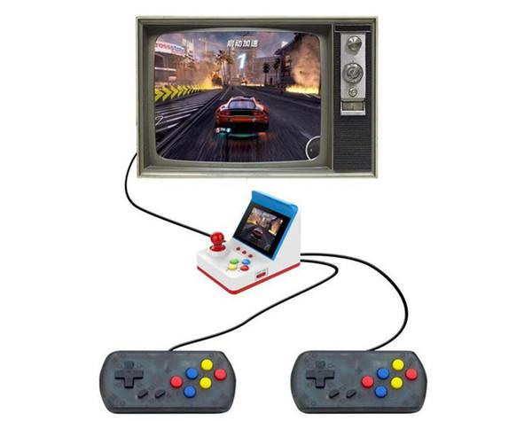 Portable Miniature Arcade Console De Jeu Ordinateur De Poche Machine De Jeu De Poche 3 Pouces Écran Manettes 360 Jeux Classiques Cadeau pour Enfants