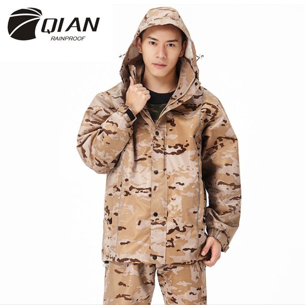 huge discount search for authentic classic style of 2019 2019 QIAN RAINPROOF Professional Outdoor Raincoat Thicker Heavy Water Gear  Hiddenhat Fashionable Sportswear Waterproof Rain Gear #179643 From ...