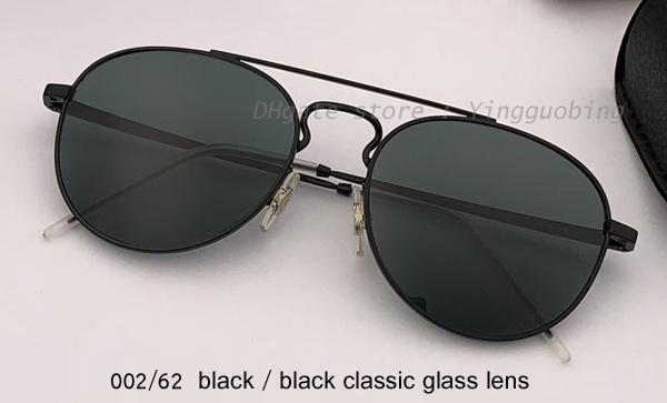 002/62 siyah / siyah klasik lens