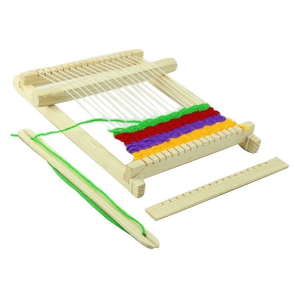 DIY loom manually invented braiding model material scientific experiment assembly puzzle toys